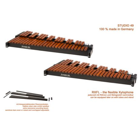 Xylophone table 3,5 octaves