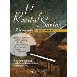 Divers auteurs : Accompagnement piano pour 1st Récital séries for timpani