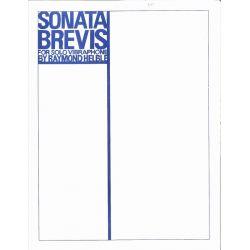 HELBLE Raymond : Sonata Brevis