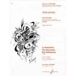 JORAND Marcel et DI TUCCI Jean-Jacques : Trois danses