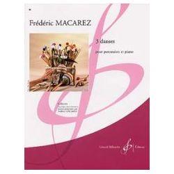 MACAREZ Frédéric : 3 danses