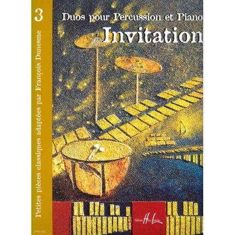 DUMESME Francois : Invitation  3