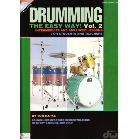 HAPKE Tom : Drumming, the easy way! Vol. 2