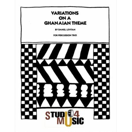 LEVITAN Daniel : Variations on a Ghanaian thème