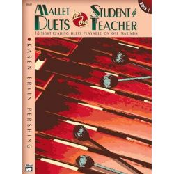 PERSHING Karen Ervin : Mallet duets for the student & teacher (Book 1)