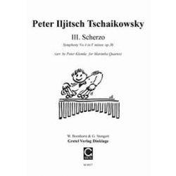 TCHAIKOVSKY Peter Iljitsch : Scherzo de la 4ème symphonie (arr. P. Klemke)