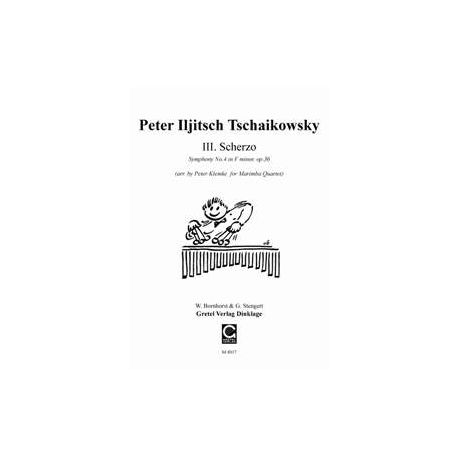 TCHAIKOVSKY Peter Iljitsch : Scherzo de la 4ème symphonie
