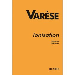 VARESE Edgar : Ionisation
