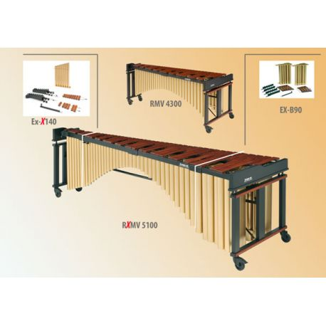 STUDIO 49 Extension pour marimba RMV 4300 (notes aigües)