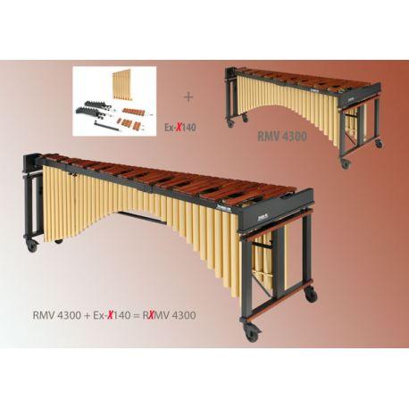Marimba modèle concert 5.4 octaves (Xylomarimba)