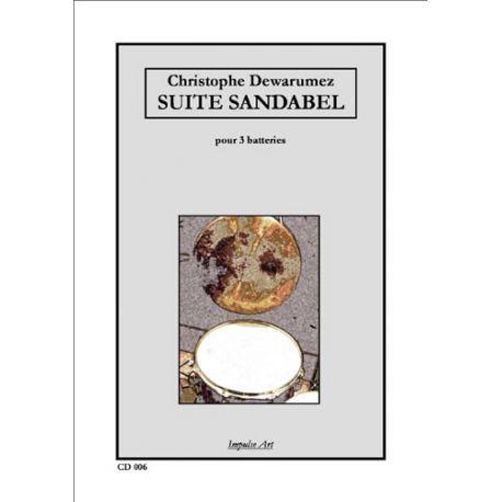 DEWARUMEZ Christophe : Suite Sandabel