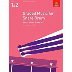 WRIGHT Ian : Graded music for snare drum, Grade 1 et 2