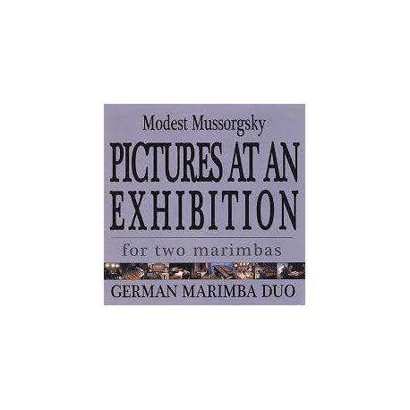 GERMAN MARIMBA DUO : Tableaux d'une exposition