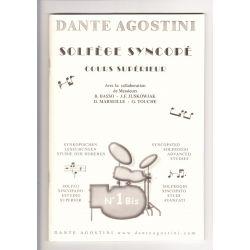 AGOSTINI Dante : Solfège syncopé 1 bis