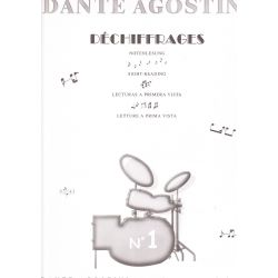 AGOSTINI Dante : Déchiffrage Vol. 1