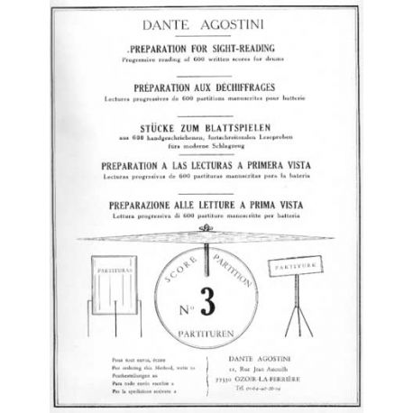 AGOSTINI Déchiffrage Vol. 3
