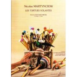 MARTYNCIOW Nicolas : Les tortues volantes