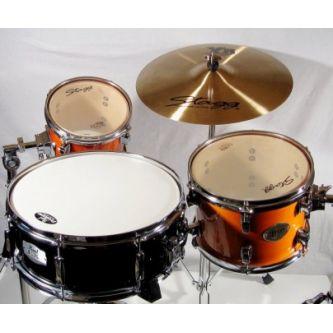 Set  caisse claire, 2 toms et cymbale