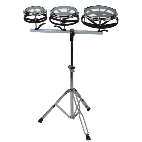 Set de 3 rototoms avec stand