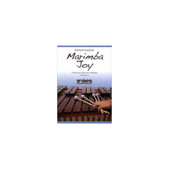 KOPETZKI Eckhard : Marimba Joy Vol. 2