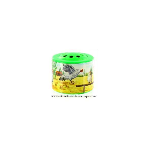 Boîte cris d'animaux : COQ