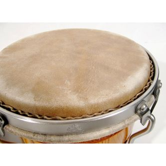 """Peau prémontée de bongos 8,5"""""""