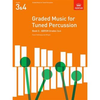 WRIGHT Ian : Graded music for tuned percussion, Grades 3-4