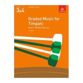 WRIGHT Ian : Graded music for timpani, Grade 3 et 4