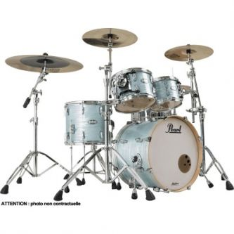 "Batterie Fusion 20"" 4 fûts - Ice Blue Oyster"