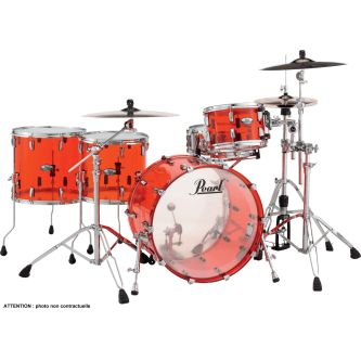 "Batterie Crystal beat Rock 22"" 4 fûts 2TB - Ruby red"