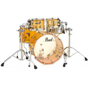 "Batterie Crystal beat Fusion 20"" 4 fûts - Tangerine Glass"