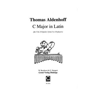ALDENHOFF Thomas : C Major in Latin