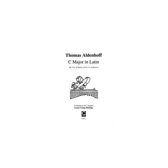 ALDENHOFF Thomas : C Major in Latin