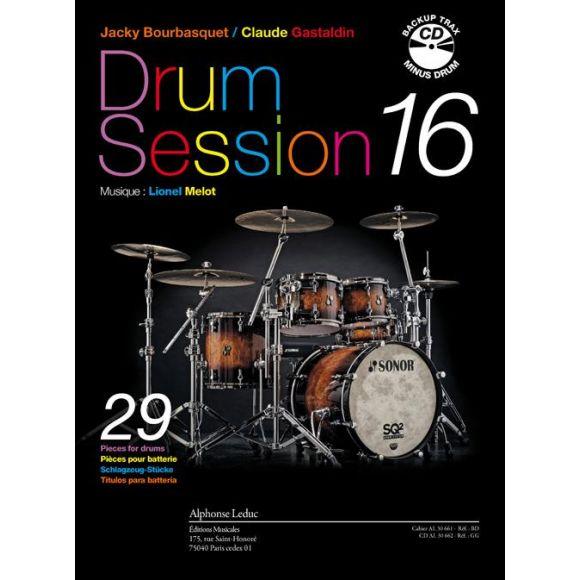 GASTALDIN, MELOT, BOURBASQUET : Drum session 16