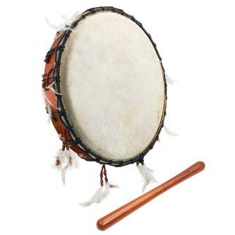 Tambour rituel 22 cm