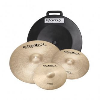 "Pack Traditional Brillant 14"" + 16"" + 20"" + Hardcase offert"