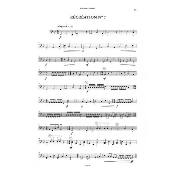 SAUVAGE Daniel : Récréations Vol 1