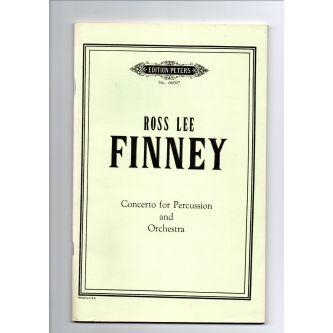 FINNEY Ross Lee : Concerto pour percussion et orchestre