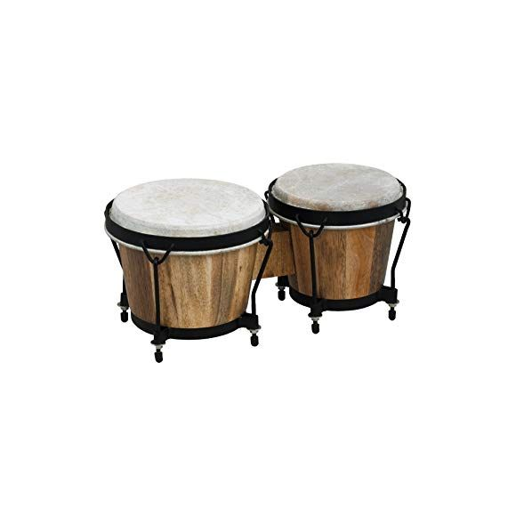 """Paire de bongos """"Club Salsa"""" 6"""" et 7"""""""