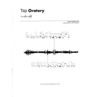 CANGELOSI Casey : Tap Oratory for Snare Drum