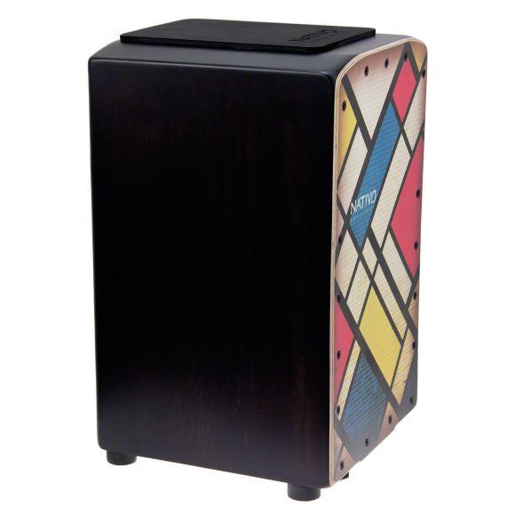 """Cajon """"Pro"""" Mondrian"""