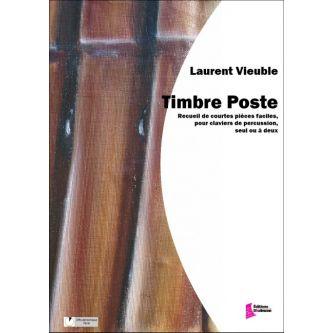 VIEUBLE Laurent : Timbre poste