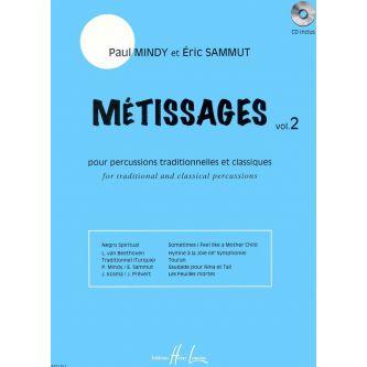 MINDY P. et SAMMUT E. : Métissages Vol.2