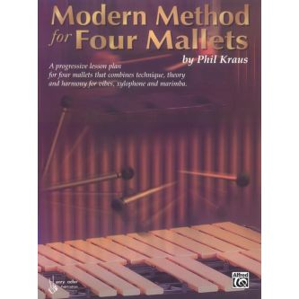 KRAUS Phil : Modern method for four mallets