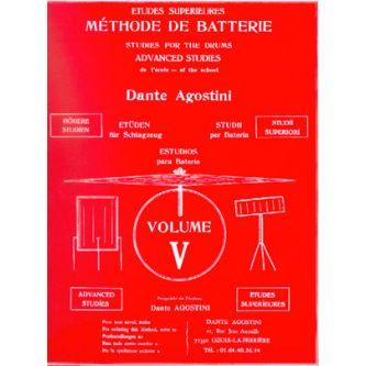 AGOSTINI Dante : Méthode de batterie Vol. 5