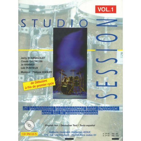 Divers auteurs : Studio Session Vol. 1