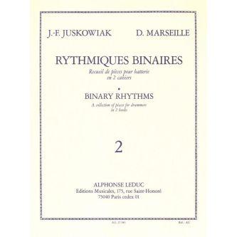 JUSKOWIAK J.F. et MARSEILLE D. : Rythmiques Binaires, 2