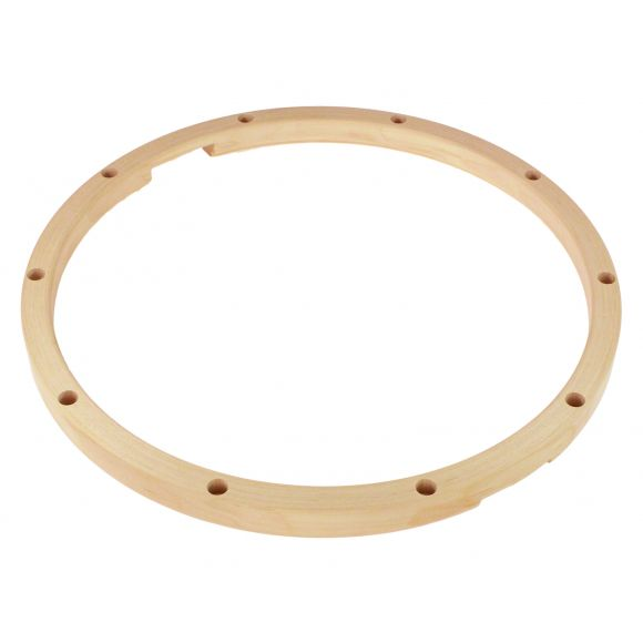 """Cercle érable 14"""" - 10 trous """"Timbres"""""""