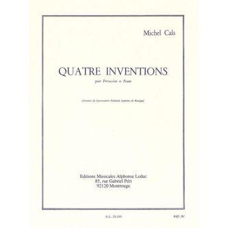 CALS Michel : Quatre inventions