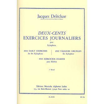 DELECLUSE Jacques : 200 exercices journaliers Vol. 1